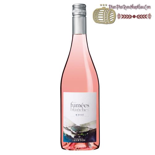 Rượu vang Les Fumées Blanches Gris De Sauvignon Rosé - phanphoiruounhapkhau.com