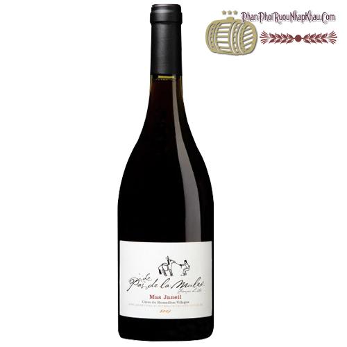 Rượu vang Mas Janeil Le pas dela Mule - phanphoiruounhapkhau.com