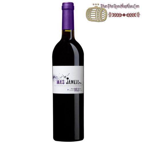 Rượu vang Mas Janiel - phanphoiruounhapkhau.com