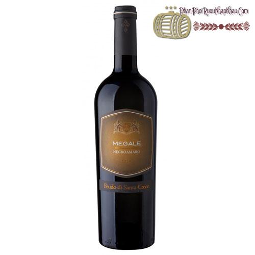 Rượu vang Megale 2014 NegroAmaro Salento - Giorgio - phanphoiruounhapkhau.com