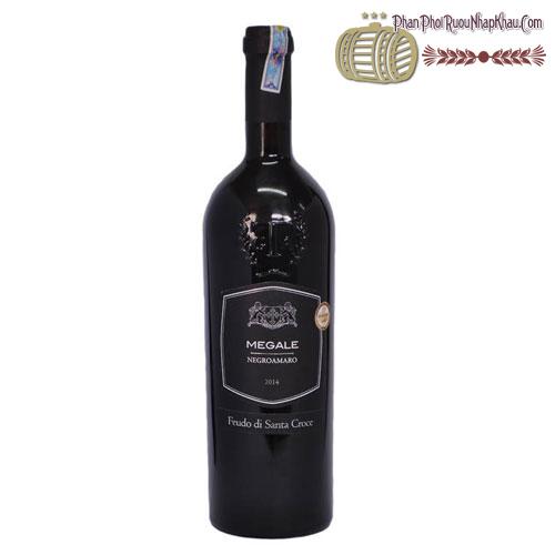 Rượu vang Megale 2014 NegroAmaro Salento -Tinazzi - phanphoiruounhapkhau.com