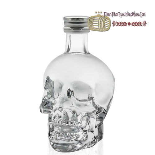 Rượu Miniature Crystal Head 50ml [VA] - phanphoiruounhapkhau.com