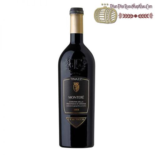 Rượu vang Monterè Corvina 2013 Della Provincia di Verona - phanphoiruounhapkhau.com