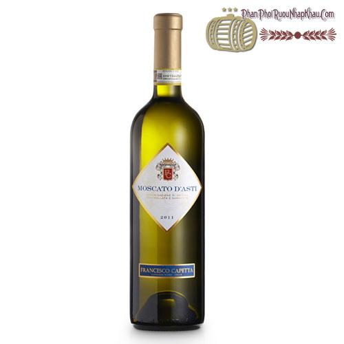 Rượu vang Moscato D'Asti Capetta - phanphoiruounhapkhau.com