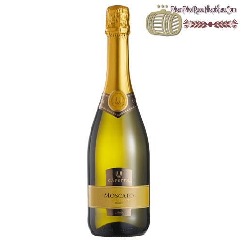 Rượu vang Moscato Spumante - phanphoiruounhapkhau.com