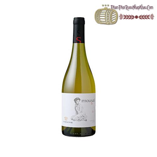 Rượu vang Mousai Chardonnay 2015 - phanphoiruounhapkhau.com