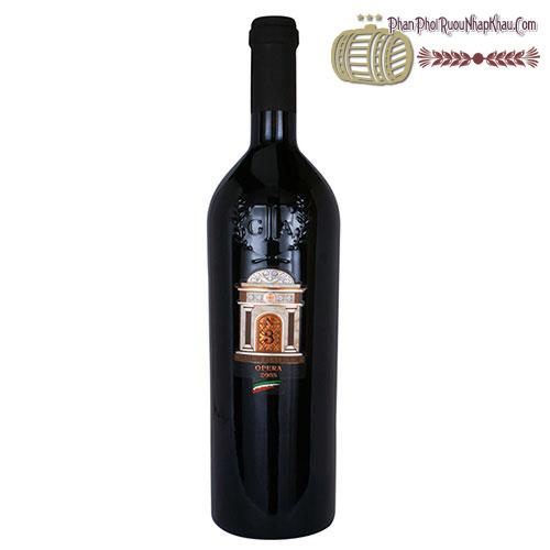 Rượu vang N°3 Opera 2005 Vinum Italicum - phanphoiruounhapkhau.com