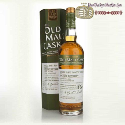 Rượu Whisky Old Malt Cask Speyside 16 năm 1996 - phanphoiruounhapkhau.com