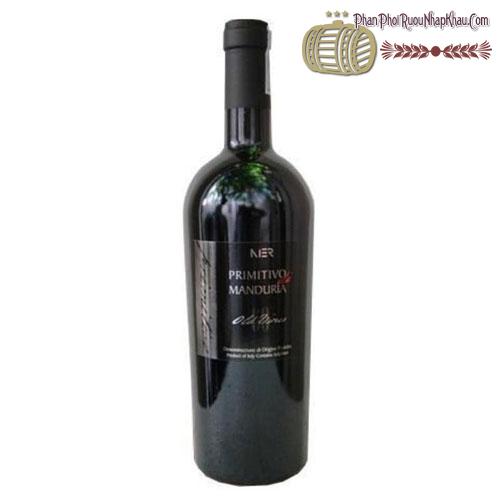 Rượu vang Primitivo di Manduria Nier Fine 2010 - phanphoiruounhapkhau.com
