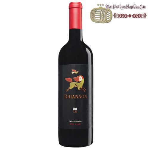 Rượu vang Rhiannon California Red Wine - phanphoiruounhapkhau.com
