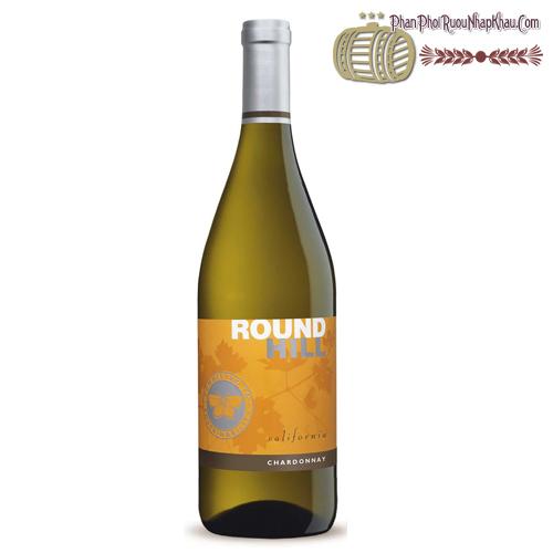 Rượu vang Round Hill California Chardonnay - phanphoiruounhapkhau.com