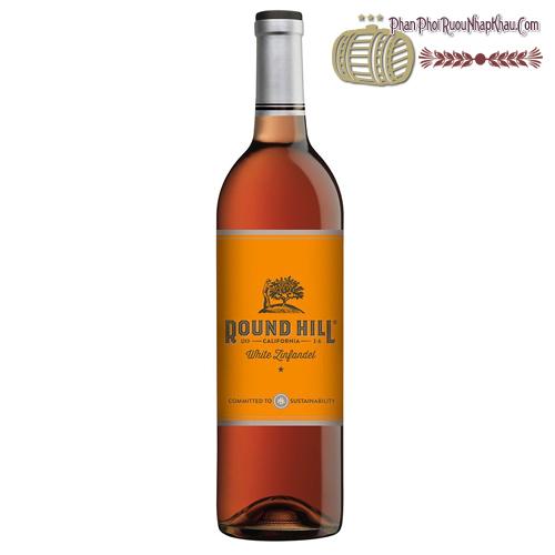 Rượu vang Round Hill California White Zinfandel - phanphoiruounhapkhau.com