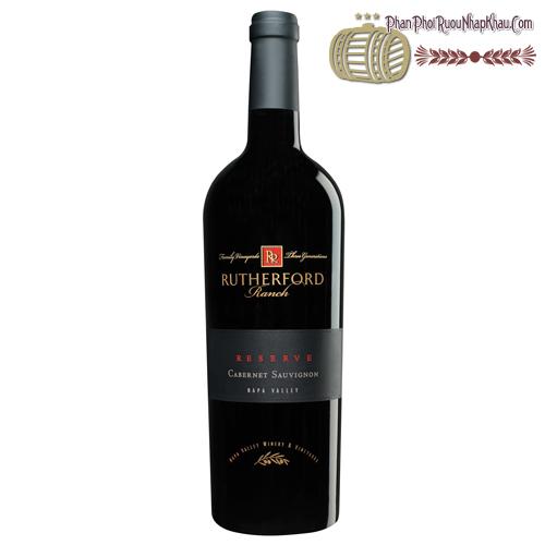 Rượu vang Rutherford Ranch Napa Valley Cabernet Sauvignon Reserve - phanphoiruounhapkhau.com