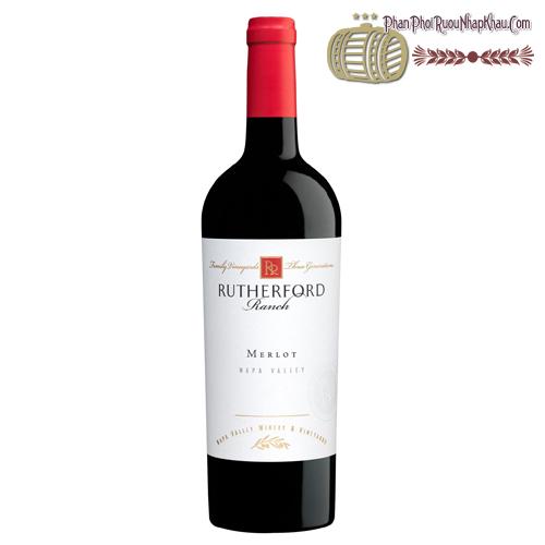 Rượu vang Rutherford Ranch Napa Valley Merlot - phanphoiruounhapkhau.com
