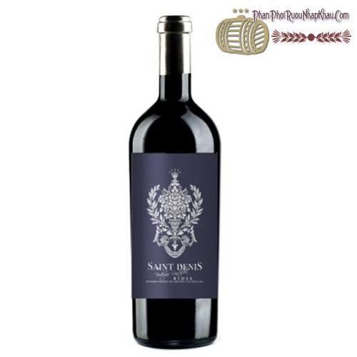 Rượu vang Saint Denis Single Vineyard 2005 - phanphoiruounhapkhau.com