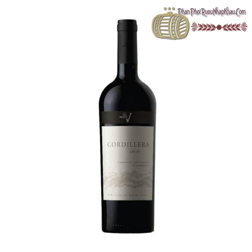 Rượu vang San Vicente Cordillera Lircay Ensamblaje Premium