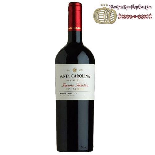 Rượu vang Santa Carolina Barrica Selection Cabernet Sauvignon 2010 - phanphoiruounhapkhau.com
