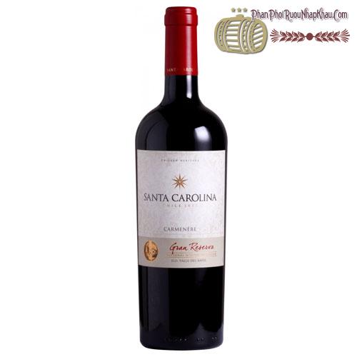 Rượu vang Santa Carolina Gran Reserva Cabernet Sauvignon Carmenere Syrah - phanphoiruounhapkhau.com