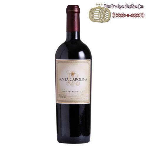 Rượu vang Santa Carolina Reserva de Familia Carmenere 2011