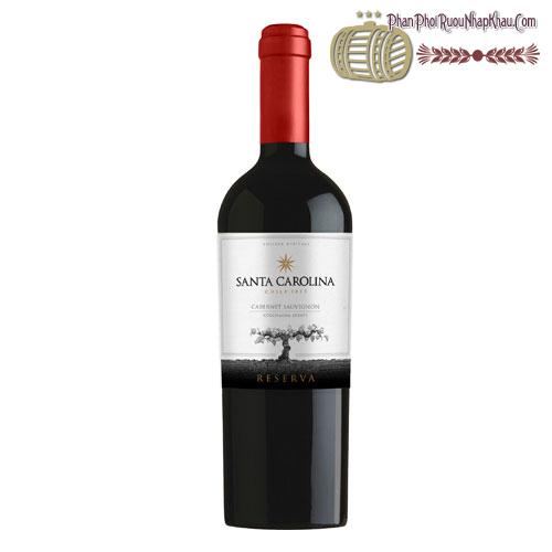 Rượu vang Santa Carolina Reserva Estate Cabernet Sauvignon 2012 - phanphoiruounhapkhau.com
