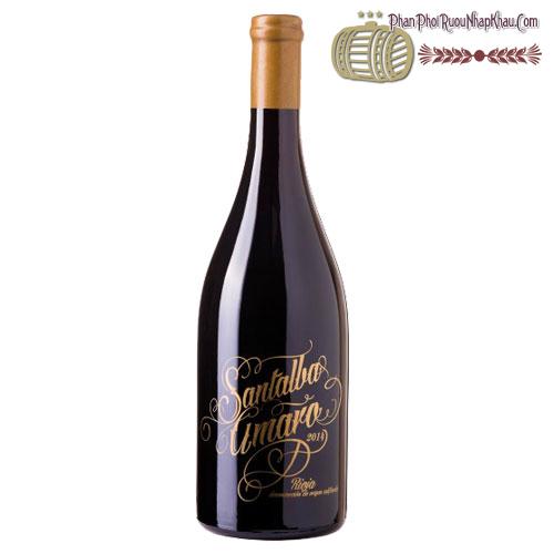 Rượu vang Santalba Amaro 2014 - phanphoiruounhapkhau.com