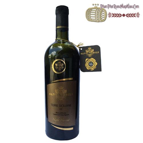 Santi Nobile (96Points) Terre Siciliane IGP Nero d'Avola Cabernet Sauvignon - phanphoiruounhapkhau.com