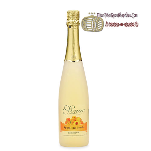 Rượu Senac - Spanish Sparkling Peach Juice [PE] - phanphoiruounhapkhau.com