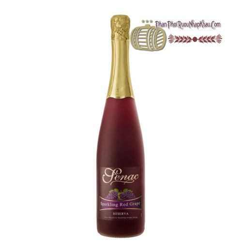 Rượu Senac - Spanish Sparkling Red Juice [PE] - phanphoiruounhapkhau.com