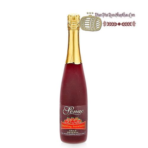 Rượu Senac - Spanish Sparkling Strawberry Juice [PE] - phanphoiruounhapkhau.com