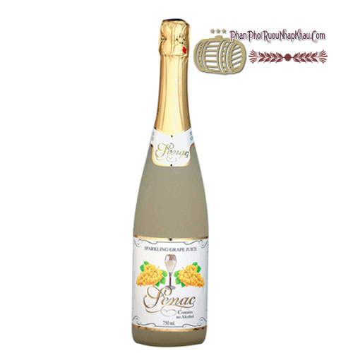 Rượu Senac - Spanish Sparkling White Juice [PE] - phanphoiruounhapkhau.com
