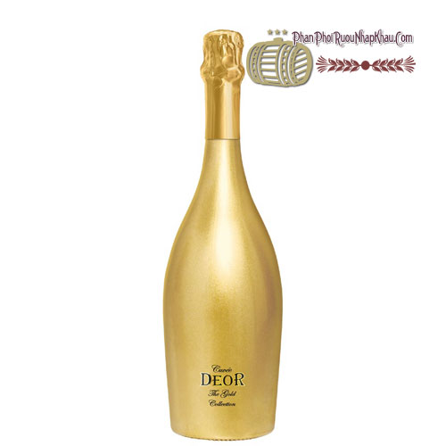 Rượu Sparkling Cuvee Deor The Gold Collection [PE] - phanphoiruounhapkhau.com