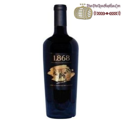 Rượu vang Tierra de Castilla 1.868 2014 - phanphoiruounhapkhau.com