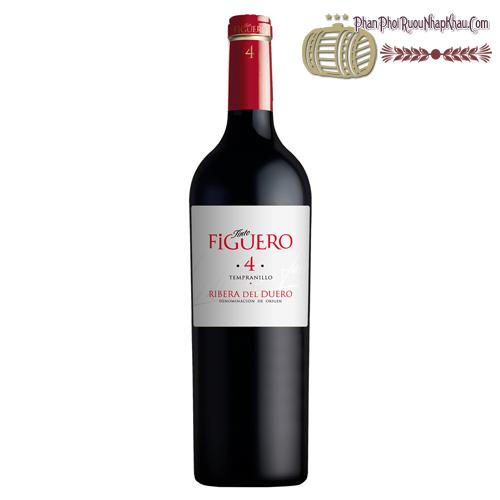 Rượu vang Tinto Figuero 4 Roble - phanphoiruounhapkhau.com