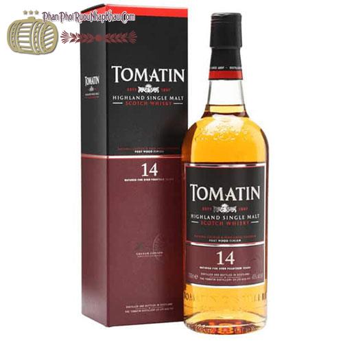 Rượu Whisky Tomatin 14 năm - phanphoiruounhapkhau.com