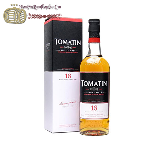 Rượu Whisky Tomatin 18 năm - phanphoiruounhapkhau.com