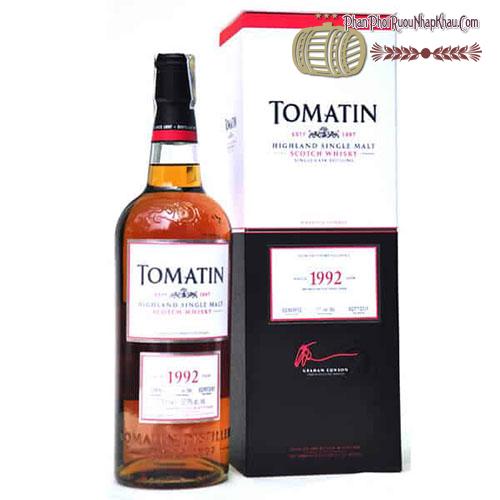 Rượu Whisky Tomatin 1992 Cask Strength