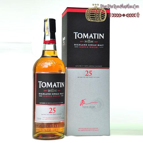 Rượu Whisky Tomatin 25 năm