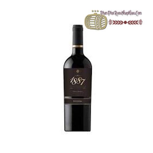 Rượu vang 1887 Reserva Cabernet Sauvignon [PE] - phanphoiruounhapkhau.com