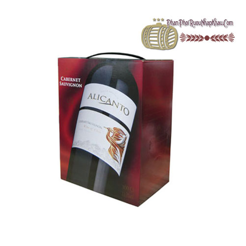 Rượu vang Alicanto Cabernet Sauvignon 5L [VA] - phanphoiruounhapkhau.com