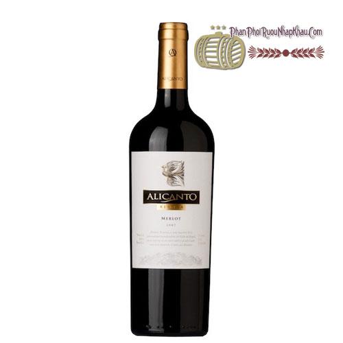 Rượu vang Alicanto Reserva Merlot [VA] - phanphoiruounhapkhau.com