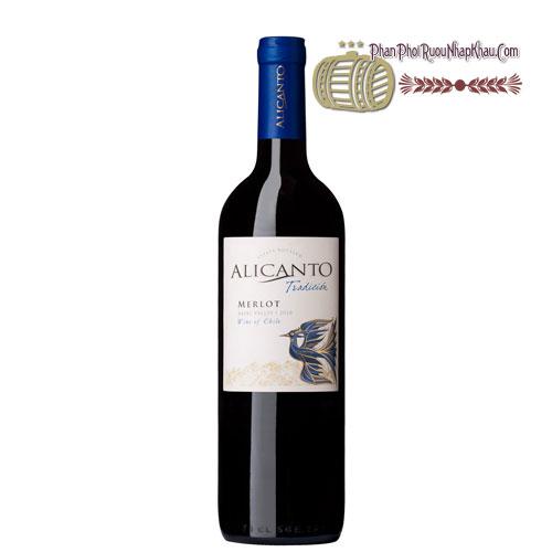 Rượu vang Alicanto Tradicion Merlot [VA] - phanphoiruounhapkhau.com