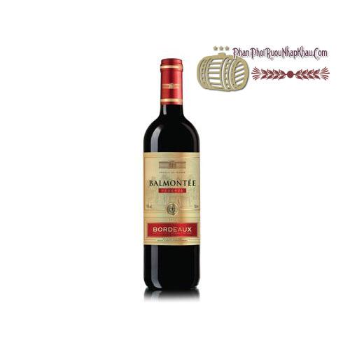 Rượu vang Balmontee Bordeaux - Red [BM]