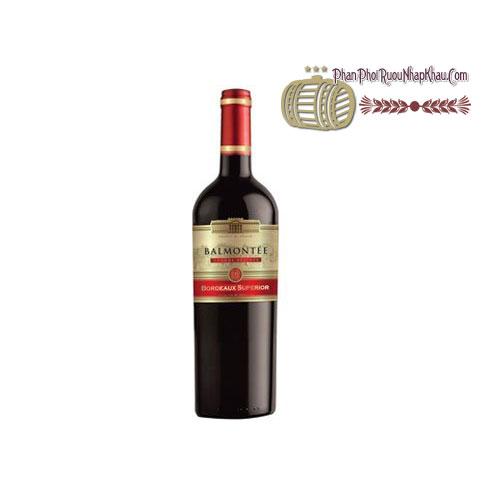 Rượu vang Balmontee Bordeaux Superior - Red [BM] - phanphoiruounhapkhau.com