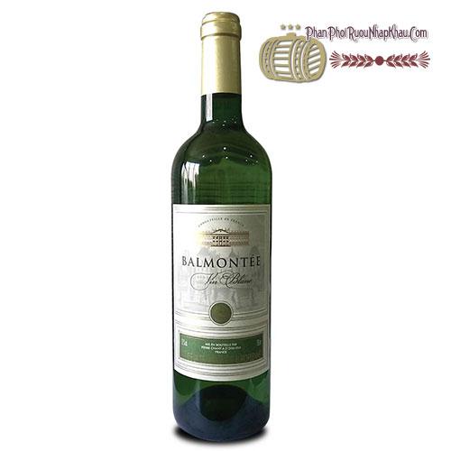 Rượu vang Balmontee VCE - Blanc [BM] - phanphoiruounhapkhau.com