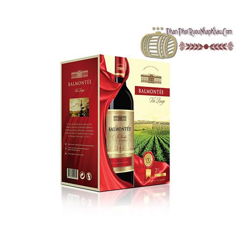 Rượu vang Balmontee VCE - Red 3L [BM] - phanphoiruounhapkhau.com