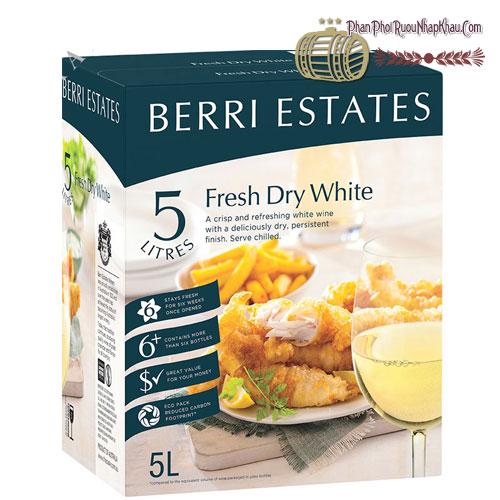 Rượu Vang Berri Estates Crisp Dry White