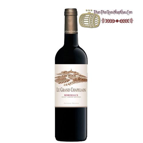 Rượu vang Bordeaux AOP Le Grand Chapelain [PE] - phanphoiruounhapkhau.com