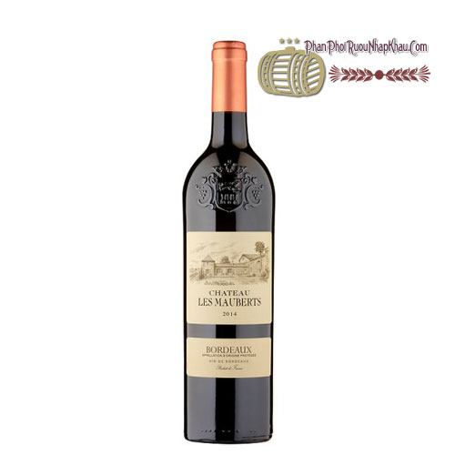 Rượu vang Bordeaux Chateau Les Mauberts [VA] - phanphoiruounhapkhau.com