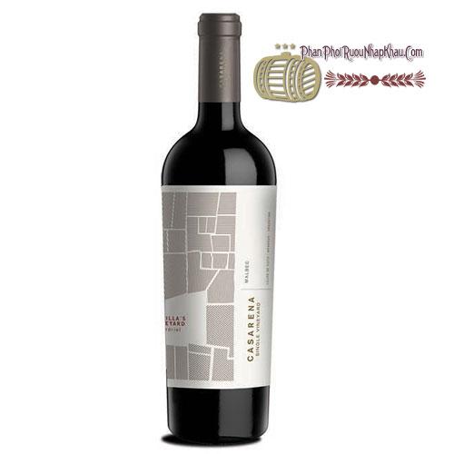 Rượu vang Casarena Jamilla's Vineyarrd Perdriel [BM] - phanphoiruounhapkhau.com