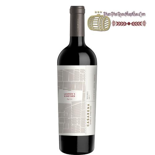 Rượu vang Casarena Lauren's Vineyard Agrelo [BM] - phanphoiruounhapkhau.com